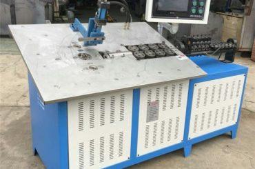 venda quente 3d fío de aceiro automático formando máquina CNC, prezo de máquina de dobra 2d
