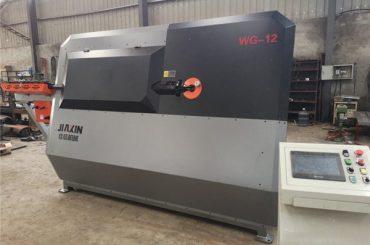máquina de dobra de arame de aceiro inoxidable 2D e automática