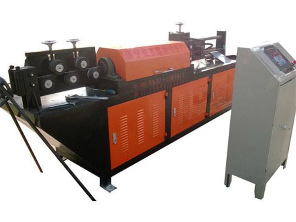 alisado hidráulico automático e máquina de corte