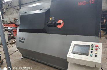 maquinaria industrial de barras deformadas feitas en China estribo automático bender